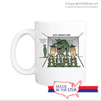 Mug (Made in USA): SemperToons - What Recruits See