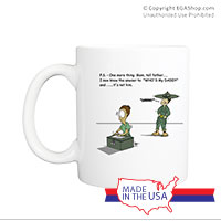 Mug (Made in USA): SemperToons -  PS Tell Dad