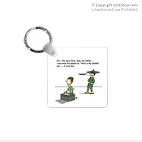 Key Chain: SemperToons - PS Tell Dad