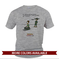 _T-Shirt (Unisex): SemperToons - PS Tell Dad