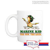 Mug (Made in USA): SemperToons -  The Few The Loud