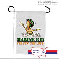 Garden Flag (Made in USA): SemperToons - The Few The Loud