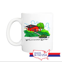 Mug (Made in USA): SemperToons -  Flat Tires