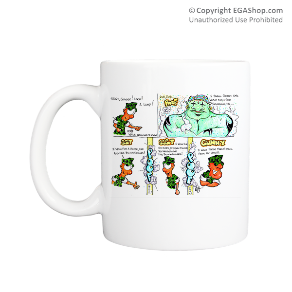 Mug (Made in USA): SemperToons -  3 Wishes