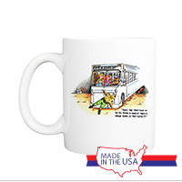 Mug (Made in USA): SemperToons -  50 Years