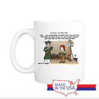 Mug (Made in USA): SemperToons -  1775