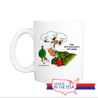 Mug (Made in USA): SemperToons -  DI Sleeping