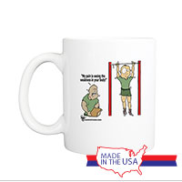 Mug (Made in USA): SemperToons -  My Pain