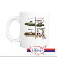 Mug (Made in USA): SemperToons -  Skin So Smooth