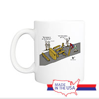 Mug (Made in USA): SemperToons -  Spider Man