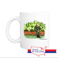 Mug (Made in USA): SemperToons -  Turtle Love