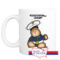Mug (Made in USA): SemperToons - Sembear Fur!