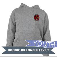 _Youth Hoodie or Long Sleeve Shirt: MALS 16