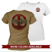 _T-Shirt (Ladies): 1/10 Marines