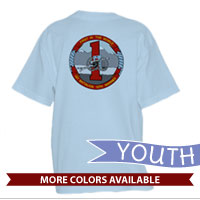 _T-Shirt (Youth): 1/10 Marines