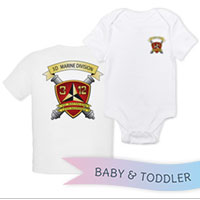 _T-Shirt/Onesie (Toddler/Baby): 3/12 Marines