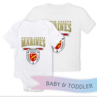 _T-Shirt/Onesie (Toddler/Baby): 1/7 Welcome Home