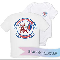 _T-Shirt/Onesie (Toddler/Baby): 3/1 Marines