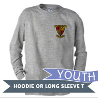 _Youth Hoodie or Long Sleeve Shirt: 3/5 Marines