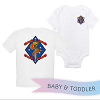 _T-Shirt/Onesie (Toddler/Baby): 1/4 Marines