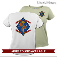 _T-Shirt (Ladies): 1/4 Marines