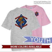 _T-Shirt (Youth): 1/4 Marines