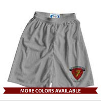 _Athletic Shorts: 7th Marine Regiment (Unisex)