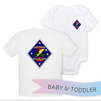 _T-Shirt/Onesie (Toddler/Baby): 1st Tanks