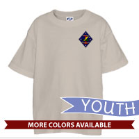 _T-Shirt (Youth): 1st Tanks