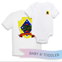 _T-Shirt/Onesie (Toddler/Baby): 3rd AAB