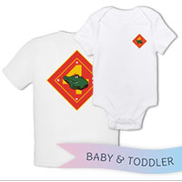 _T-Shirt/Onesie (Toddler/Baby): 4th AAB