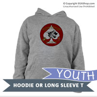 _Youth Hoodie or Long Sleeve Shirt: 2nd Tanks