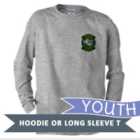 _Youth Hoodie or Long Sleeve Shirt: HMH 463