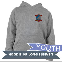 _Youth Hoodie or Long Sleeve Shirt: MWSS 374