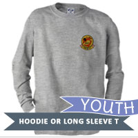 _Youth Hoodie or Long Sleeve Shirt: VMA 211