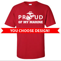 _1st Btn Red Shirts: You choose design