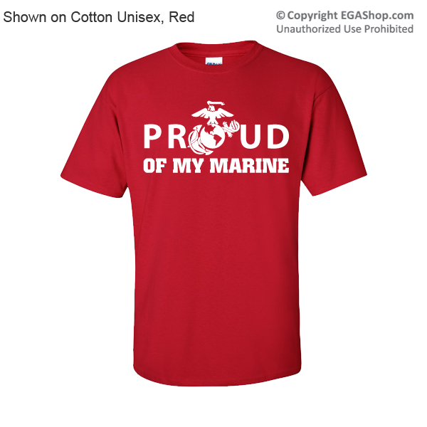 _1st Btn Red Shirts (Made in USA!): You choose design