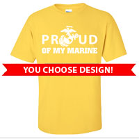 _2nd Btn Yellow Shirts: You choose design