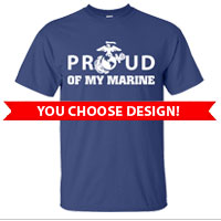 _3rd Btn Blue Shirts (Made in USA!): You choose design