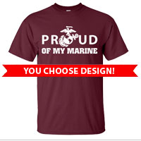 _4th Btn Maroon Shirts (Made in USA!): You choose design