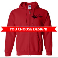 _Full-Zip Hoodie: Red Friday (Choose Design)