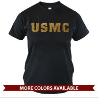 _T-Shirt (Made in USA!): USMC