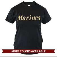 _T-Shirt (Cotton): Marines