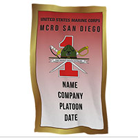 Rally Towel: 1st Recruit Btn, San Diego (Customized)