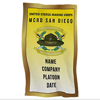 Rally Towel: 2nd Recruit Btn, San Diego (Customized)