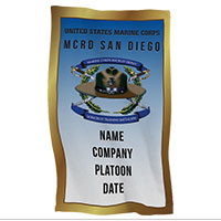 Rally Towel: 3rd Recruit Btn, San Diego (Customized)