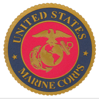 Embellishment, Laser Cut Marine Corps Seal