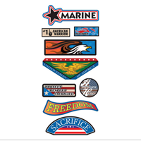Stickers, Marine Corps Patriotic