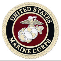 Embellishments: Laser Cut Marine Corps Seal 2
