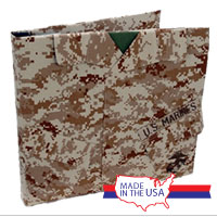 Scrapbook Album: 12x12 Marine Corps Uniform (Desert Camo)